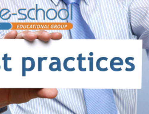 "E-SCHOOL EDUCATIONAL GROUP RECEIVED THE DISTINCTION ""EXAMPLE OF GOOD PRACTICES"""
