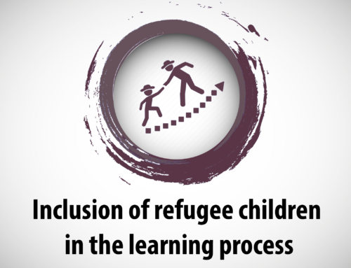 Inclusion of refugee children in the learning process