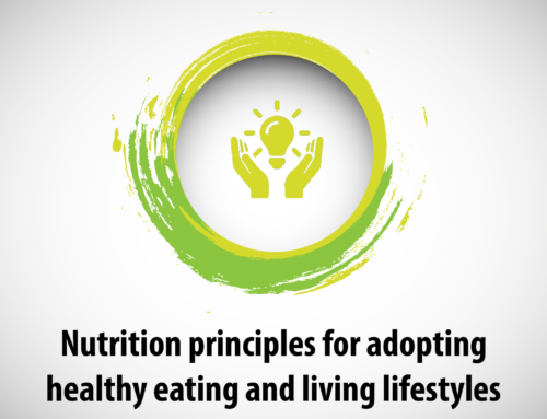 Nutrition principles for adopting healthy eating and living lifestyles