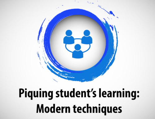 Piquing student's learning: Modern techniques