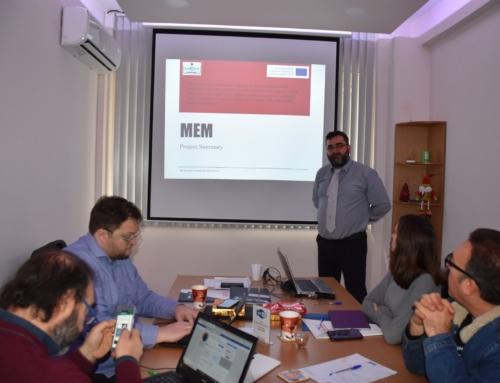 Modern Educational Methods Kick off meeting in Karditsa