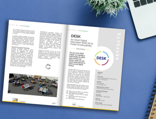 Promoting the DESK project in the Green Paper magazine