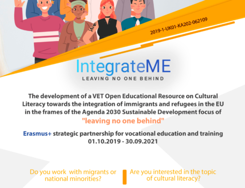 New flyer of the IntegrateMe project