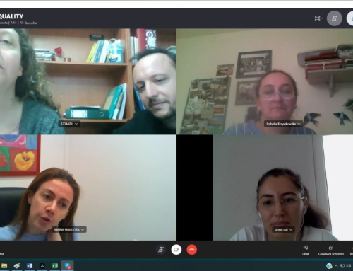 1st Online meeting of the DIGI4EQUALITY