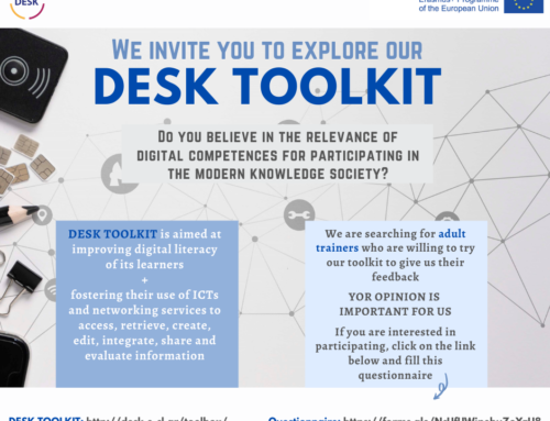 Invitation on exploring the DESK ToolKit