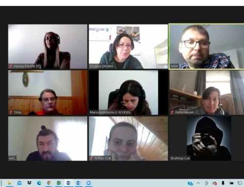4rd Online meeting of LIFE EDUCATION project