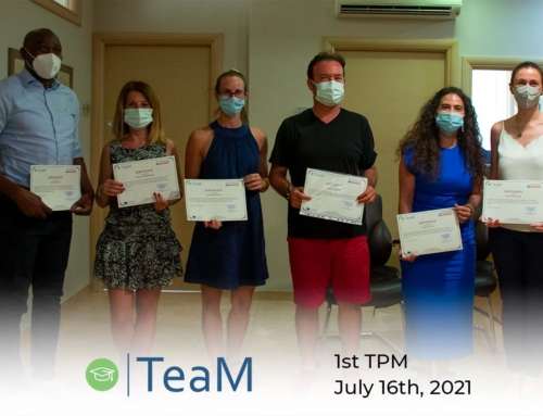 1st TPM of TeaM project in Greece